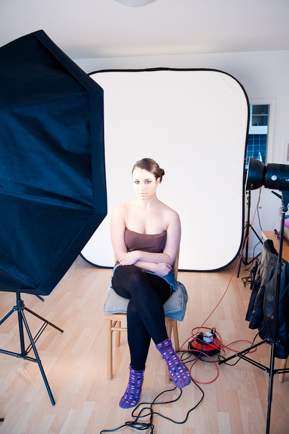 fashion  Behind the scenes at a beauty fashion shoot   2